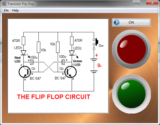 Picture of Flip Flop Demo for Windows ® PC